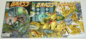 Brass #1-3 VF/NM complete series - image comics - richard bennett - 2 set lot