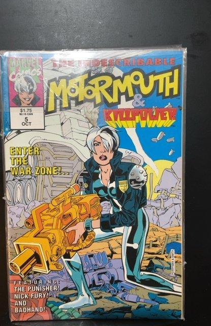 Motormouth & Killpower (UK) #5 (1992)