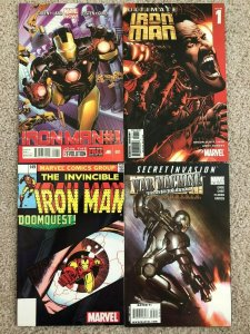 IRON MAN - FOUR (4) ISSUE LOT - ULTIMATE #1; MARVEL NOW! #1, MORE