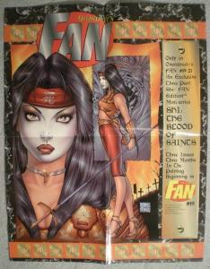 SHI OVERSTREET'S FAN Promo poster,  17x22, Unused, more Promos in store