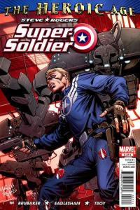 Steve Rogers: Super Soldier #3, NM (Stock photo)