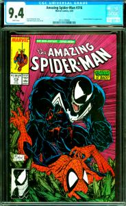 Amazing Spider-Man #316 CGC Graded 9.4 Venom & Black Cat Appearance