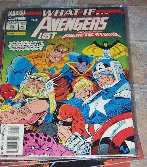 What If...? #56 (Dec 1993, Marvel)  THE AVENGERS LOST GALACTIC STORM