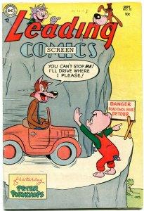 Leading Screen Comics #70 1954- DC Golden Age- Peter Porkchops VG