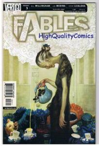 FABLES #3 , NM+, Willingham, Fairy Tales, Vertigo, 2002, more in store