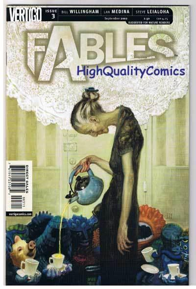 FABLES #3 , NM+, Willingham, Fairy Tales, Vertigo, 2002, more in store