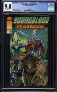 Youngblood Yearbook #1 CGC NM/M 9.8 White Pages