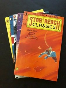 LOT OF 5-STAR REACH CLASSICS #1, 2(G/VG), 4, 5, 6 VERY FINE/NEAR MINT (PF970)