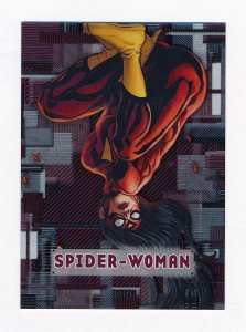 Upper Deck 2012 Marvel Beginnings III Micromotion Card #46 Spider-Woman NM/MT