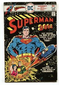 SUPERMAN #300 comic book 1976  DC COMICS  ROCKET  VG