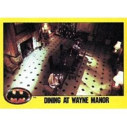 1989 Batman The Movie Series 2 Topps DINING AT WAYNE MANOR #251
