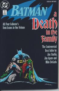 Batman A Death in the Family 1st Printing - March 1988 (NM+)