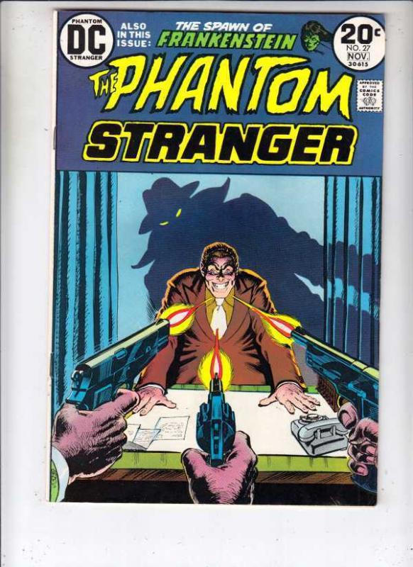 Phantom Stranger #27 strict VF/NM 1973 High-Grade Wythville Cert. 30pct BV$30.
