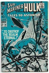 Tales to Astonish #98 1968 F-VF