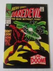 DAREDEVIL #37 (VG/F) 1968 DR DOOM! Stan Lee & Gene Colan Silver Age ID29H