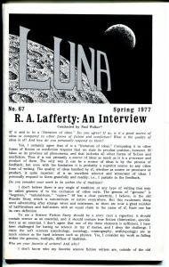 Luna #67  1977-original mailing envelope-sc-fi zine-VF
