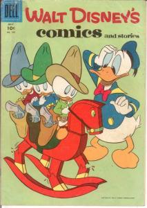 WALT DISNEYS COMICS & STORIES 190 VG July 1956 COMICS BOOK