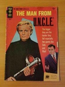 The Man from U.N.C.L.E. #11 ~ VERY GOOD - FINE FN ~ (1967, Western Publishing)