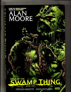 Saga Of The Swamp Thing Book # 2 NM Hardcover Graphic Novel Book 1st Print HR8