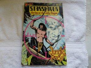 1984 FIRST COMICS STARSLAYER # 15