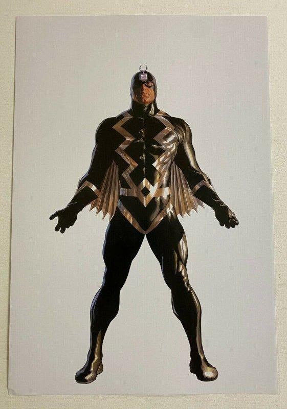 Black Bolt Inhumans Marvel Comics poster by Alex Ross