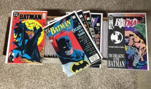 Batman 421-713 90% Nm Near Mint almost 300 Issues 423 426 427 428 429 497 Etc.