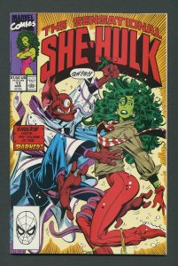She-Hulk #13  /  9.0 VFN/NM   January 1990