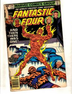 12 Fantastic Four Comics # 214 215 219 221 250 259 260 347 348 349 351 352 DJ1