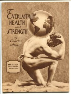 Everlasting Health and Strength by Charles Atlas 1941-response from 1940's comic