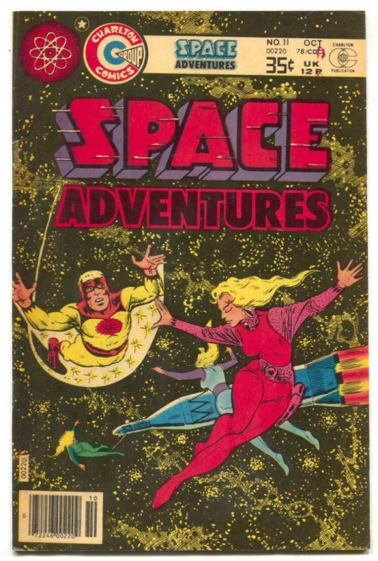 Space Adventures #11 1978- Steve Ditko - Captain Atom- VF