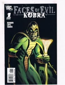 Faces Of Evil: Kobra # 1 NM DC Comic Books DC Villains Issues WOW!!!!!!!!!!! SW3