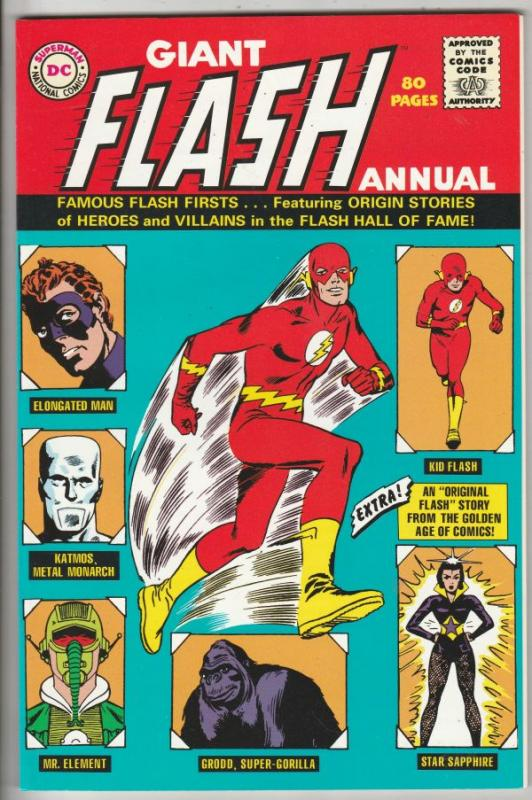 Flash, the Giant  Replica Edition #1 (Jan-01) NM+ Super-High-Grade Flash