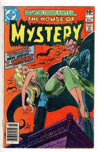 HOUSE OF MYSTERY 290 VG 4.0 1st APP. I VAMPIRE;NEWSSTAND;GO COLLECT #1 PICK!