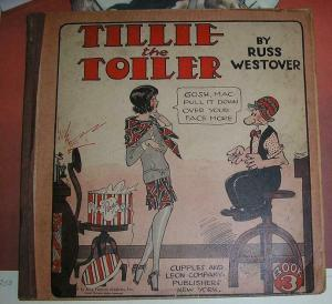 TILLIE THE TOILER (1925-33 CUPPLES & LEON) BOOK 3 GOOD+
