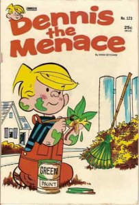 Dennis the Menace (Fawcett) #123 VG; Fawcett | low grade comic - save on shippin