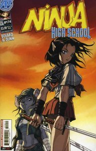 Ninja High School #174 VF; Malibu | save on shipping - details inside