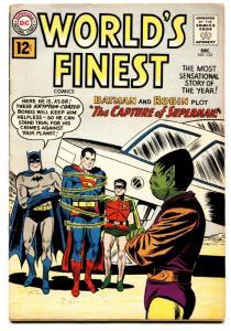 WORLD'S FINEST #122 comic book 1961- SUPERMAN- BATMAN-GREEN ARROW