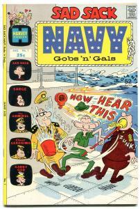 Sad Sack Navy Gobs 'n' Gals #1 1972- Harvey- high grade