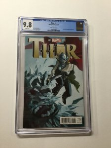 Thor 1 Cgc 9.8 Variant Staples Marvel 2014 Jane Foster Becomes Thor