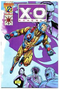 X-O MANOWAR #1/2, NM-, Wizard Mail away, 1994, more Valiant in store