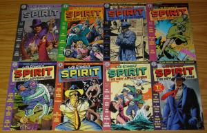 Will Eisner's the Spirit: New Adventures #1-8 VF/NM complete series - alan moore