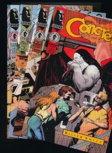 CONCRETE #1-4 (1,2,3,4) Mini series run  ~ Dark Horse Comics ~ NM (HX405)