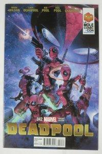 DEADPOOL #42 (Marvel,4/2015) La Mole Comic Con Variant VF-NM/+