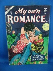 MY OWN ROMANCE 40 VG F ATLAS ROMANCE 1955