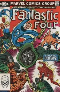 Fantastic Four (Vol. 1) #246 VF/NM; Marvel | save on shipping - details inside