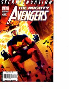 Lot Of 2 Comic Books Marvel All New Different Avenger and Mighty Avengers #19MS9