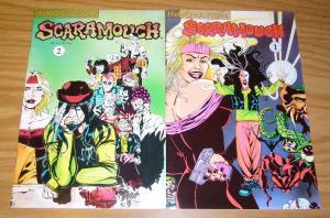 Scaramouch #1-2 VF/NM complete series - supernatural investigators - comics set