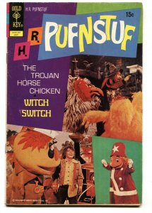 H.R. Pufnstuf #8 1972-CLASSIC TV photo cover- Gold Key VG