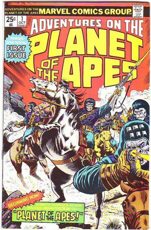 Planet of the Apes #1 (Oct-75) NM- High-Grade