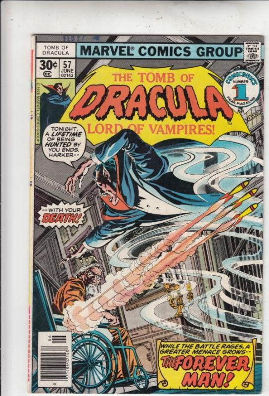 Tomb of Dracula #57 (Jun-77) VF/NM High-Grade Dracula